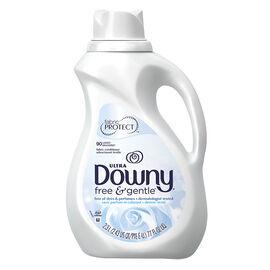 Ultra Downy Liquid Fabric Softener - Free & Gentle - 2.3L