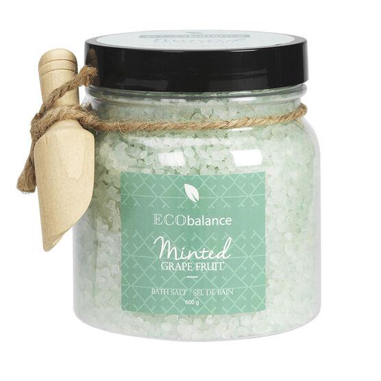 ECObalance Bath Salt - Minted Grapefruit - 600g