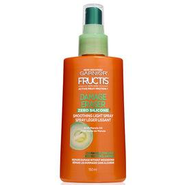 Garnier Fructis Damage Eraser Zero Silicone Smoothing Light Spray - 150ml