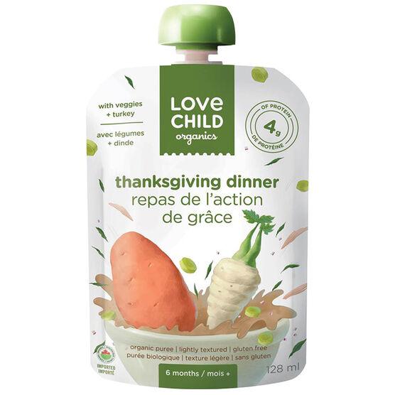 Love Child Thanksgiving Dinner - 128ml