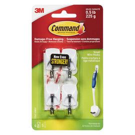 3M Command Kitchen Hook - White - 4's