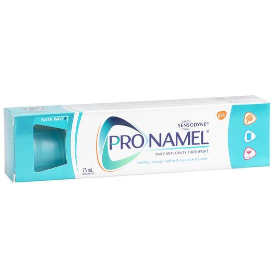 Sensodyne ProNamel Daily Anti-Cavity Toothpaste - Fresh Wave - 75ml