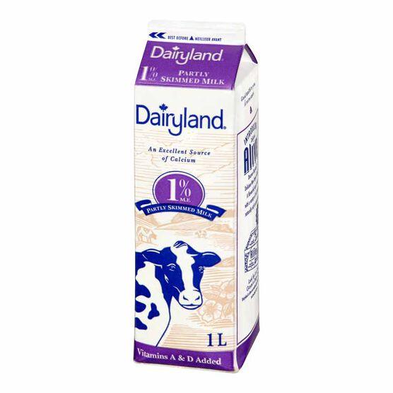 Dairyland 1% Milk-1L