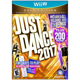Wii U Just Dance 2017 Gold Edition