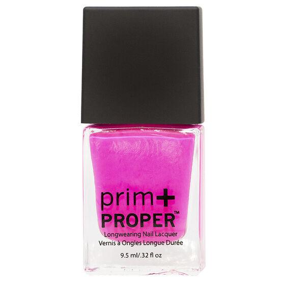 Prim + Proper Nail Lacquer - Lady Like Fuschia