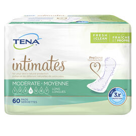 Tena Intimates Pads - Moderate Long - 60's