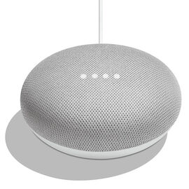 Google Home Mini Voice Assistant Speaker - Chalk - GA00210-CA