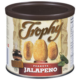 Trophy Kettle Cooked Peanuts - Jalapeno - 275g