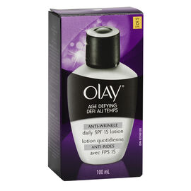Olay Age Defying Anti-Wrinkle Daily Lotion - SPF 15 - 100ml