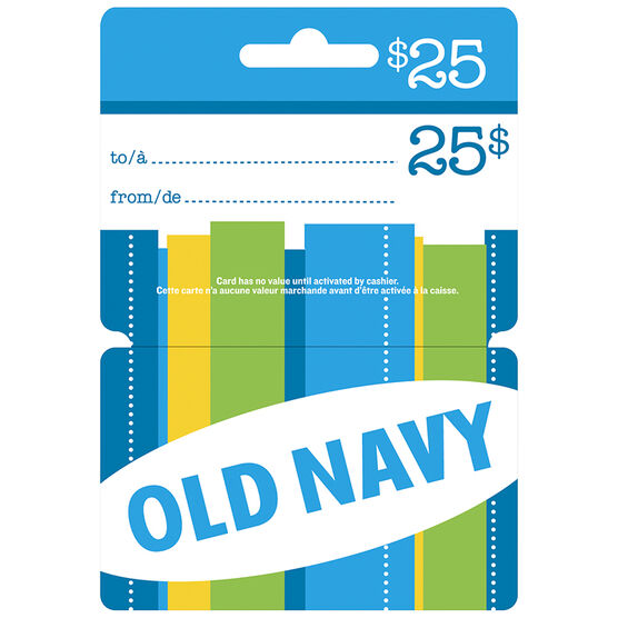 Old Navy Gift Card - $25