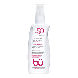 bu Alcohol-Free Performance Sunscreen - Natural White Sage Scent - SPF50 - 98ml