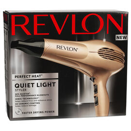 Revlon Perfect Heat Quiet Light Styler - Champagne - RVDR5233F