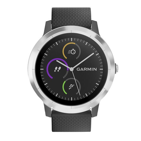 Garmin Vivoactive 3 - Black/Stainless Steel - 100176900