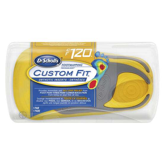 Dr. Scholl's Custom Fit Orthotic Insoles - CF120 - M8.5/W9.5