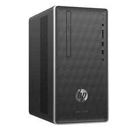 HP Pavilion 590-a0009 Desktop Computer - Silver - 3LA42AA#ABL