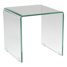 London Drugs Tempered Glass Side Table - 42 x 42 x 42cm
