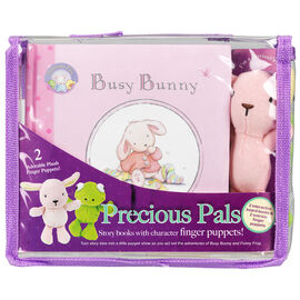 Precious Pals Busy Bunny and Funny Frog Story Set