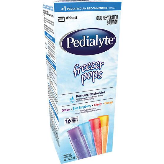 Pedialyte Freezer Pops - 16's
