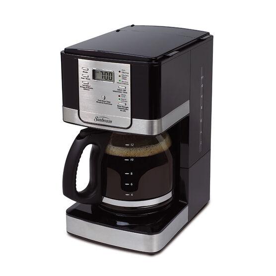 Sunbeam Programmable Coffee Maker - Black/Stainless - BVSBJWX27-033