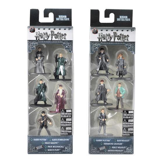 Harry Potter Nano Metal Figures Set - Assorted - 5 pack