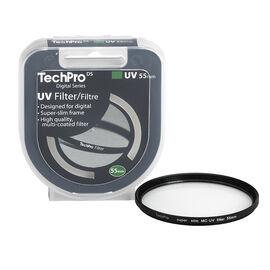 TechPro DS 55mm Multi-Coated UV Filter - FIMSMCBL55-CBDC