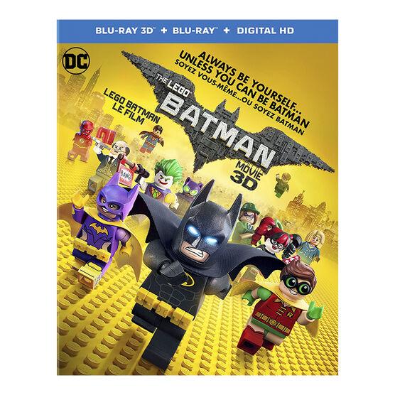 The LEGO Batman Movie - 3D Blu-ray