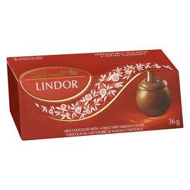 Lindor 3 pack - Milk Chocolate Truffles - 36g
