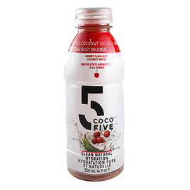 COCO5 Coconut Water - Cherry - 500ml
