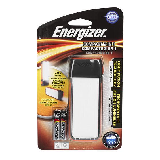 Energizer Fusion Compact 2-in-1 Flashlight - ENFCH22E