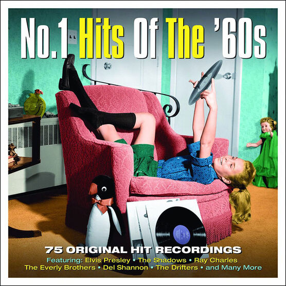 Various Artists - No. 1 Hits of the 60s - 3 CD