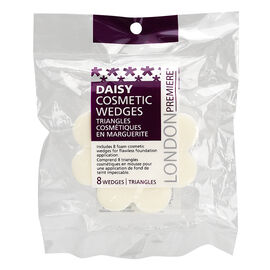 London Premiere Daisy Cosmetic Wedges - 8's
