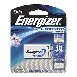 Energizer Ultimate Lithium 9V Battery - L522BP