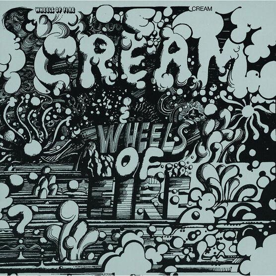 Cream - Wheels of Fire - 2 LP Vinyl