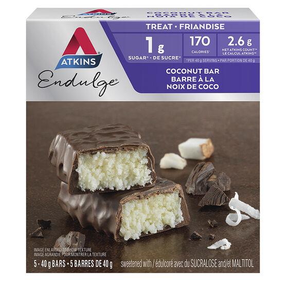 Atkins Endulge Bars - Chocolate Coconut - 5 x 40g