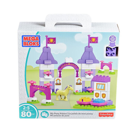 Mega Bloks - My Pony Palace Playset
