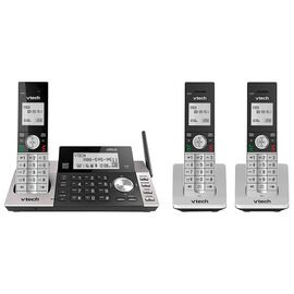 Vtech 3 Handset Cordless Digital Answering System - Black - DS5151-3
