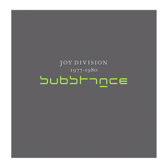 Joy Division - Substance - 180g Vinyl