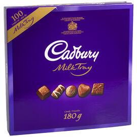Cadbury Milk Chocolate Milk Tray - 180g