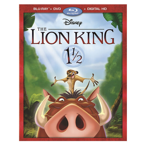 The Lion King 1 ½ - Blu-ray