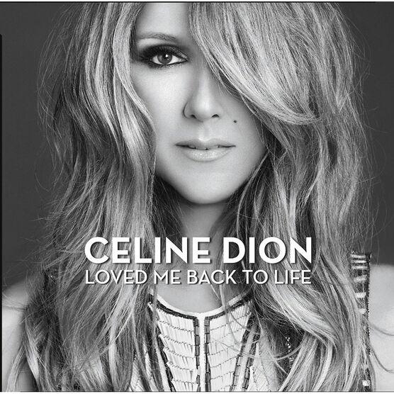 Celine Dion - Loved Me Back To Life - CD