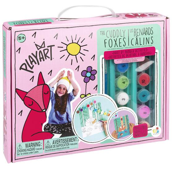 Bojeux Playart The Cuddly Foxes
