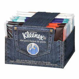 Kleenex Slim Wallet Packs - 6 x 10's