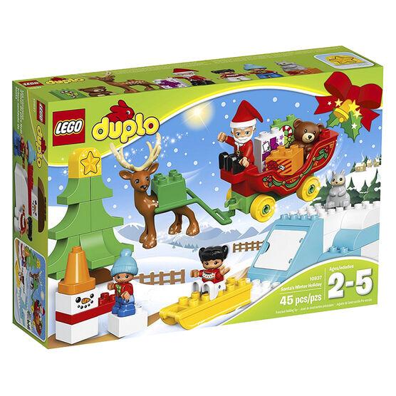 LEGO SANTAS WINTER HOLIDAY