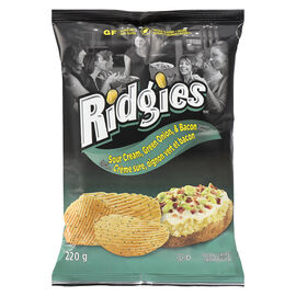 Double Dutch Ridgies -  Sour Cream - 220g