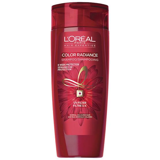 L'Oreal Color Radiance Shampoo for Regular Coloured Hair - 385ml