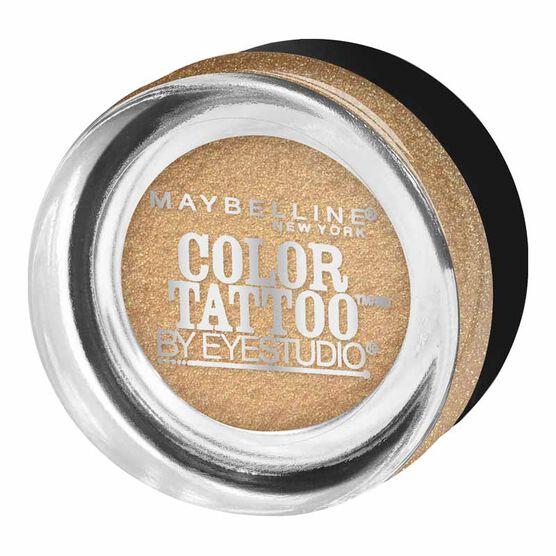 Maybelline Eye Studio Color Tattoo 24HR Cream Gel Eyeshadow - Bold Gold