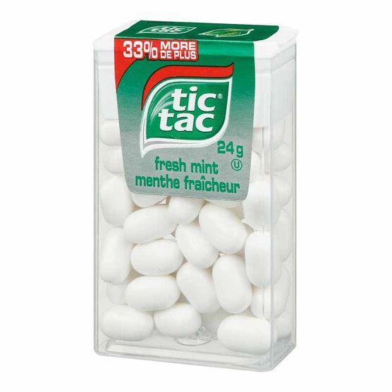 Tic Tac - Fresh Mint - 24g