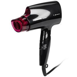 Panasonic Nanoe Compact Travel Hair Dryer - Black/Pink - EHNA27