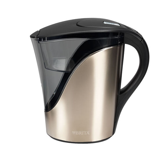 Brita Stainless Steel Pitcher - 8 cup