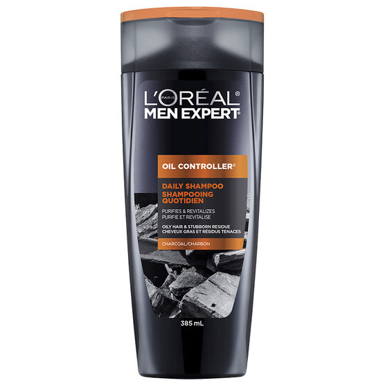 L'Oreal Men Expert Oil Controller Daily Shampoo - Charcoal - 385ml
